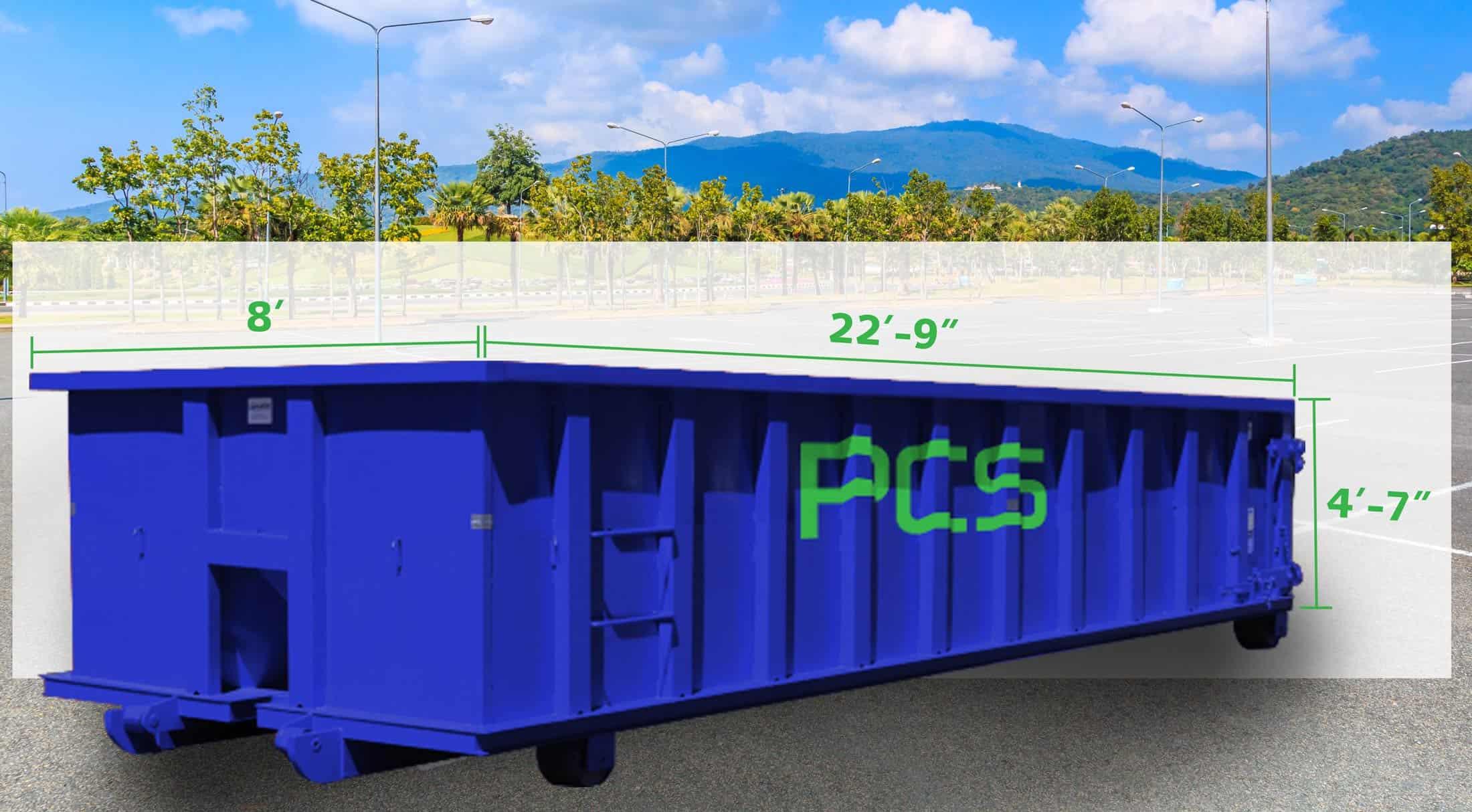 20-yard-dumpster