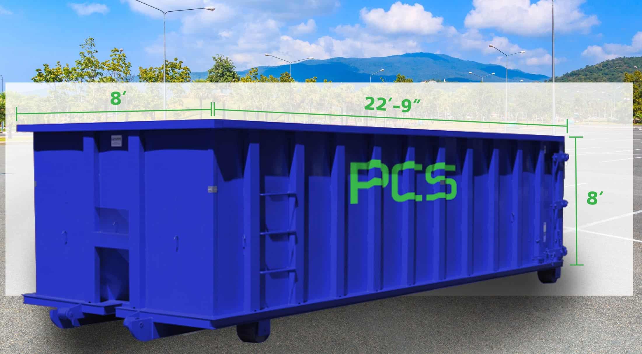 40-yard-dumpster